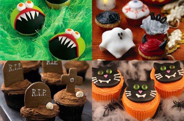 15 halloween cupcakes