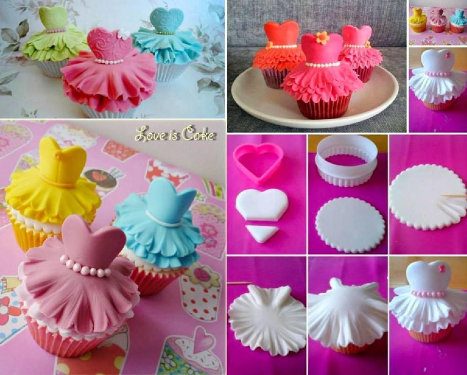 How To Make Super Cute Ballerina Cupcakes
