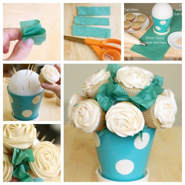 Cupcake bouquet F