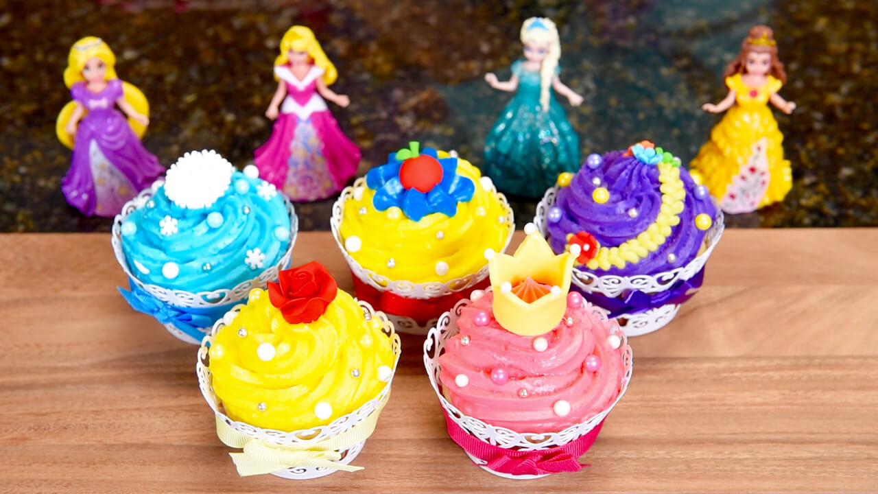 Princess Cake Pops Toppers