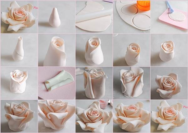 How To Make Edible Cake Decorating Flowers