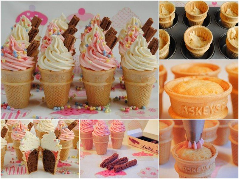 How To Diy Ice Cream Cone Cupcakes Video