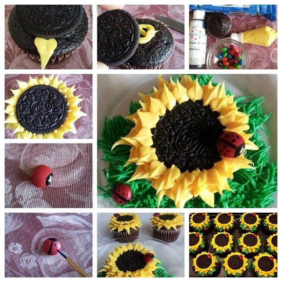 Oreo-Sunflower-Cupcakes-F