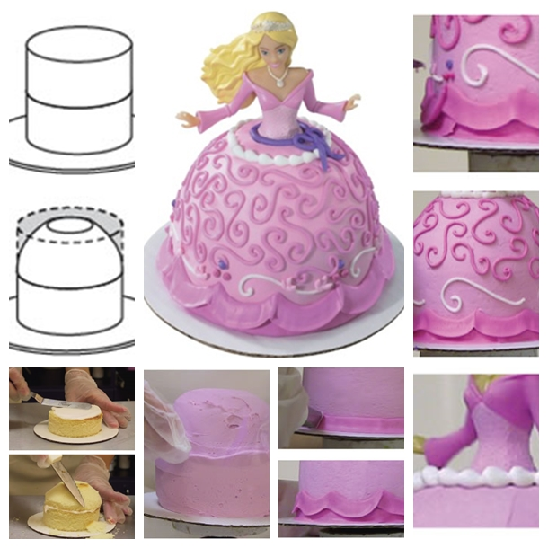 Barbie Doll Cake Supplies