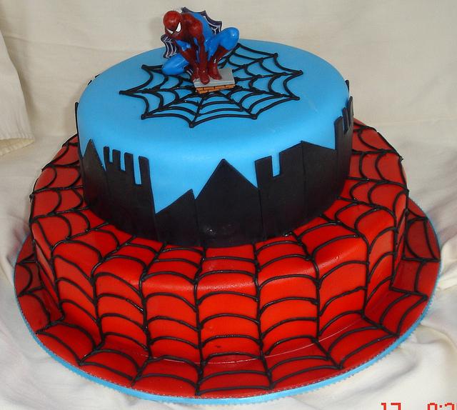 Spiderman-Cake-image