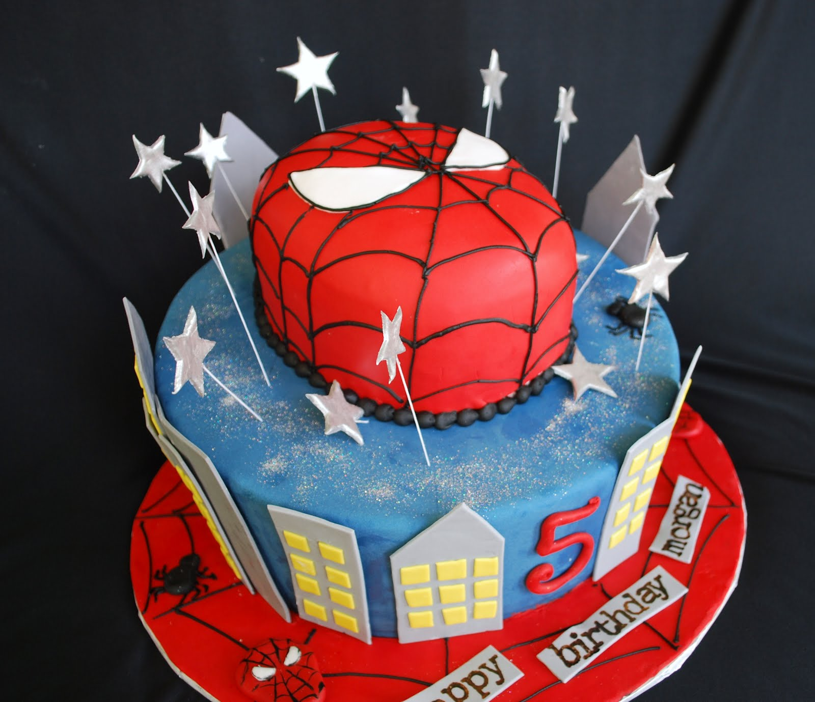 Spiderman Cake photos