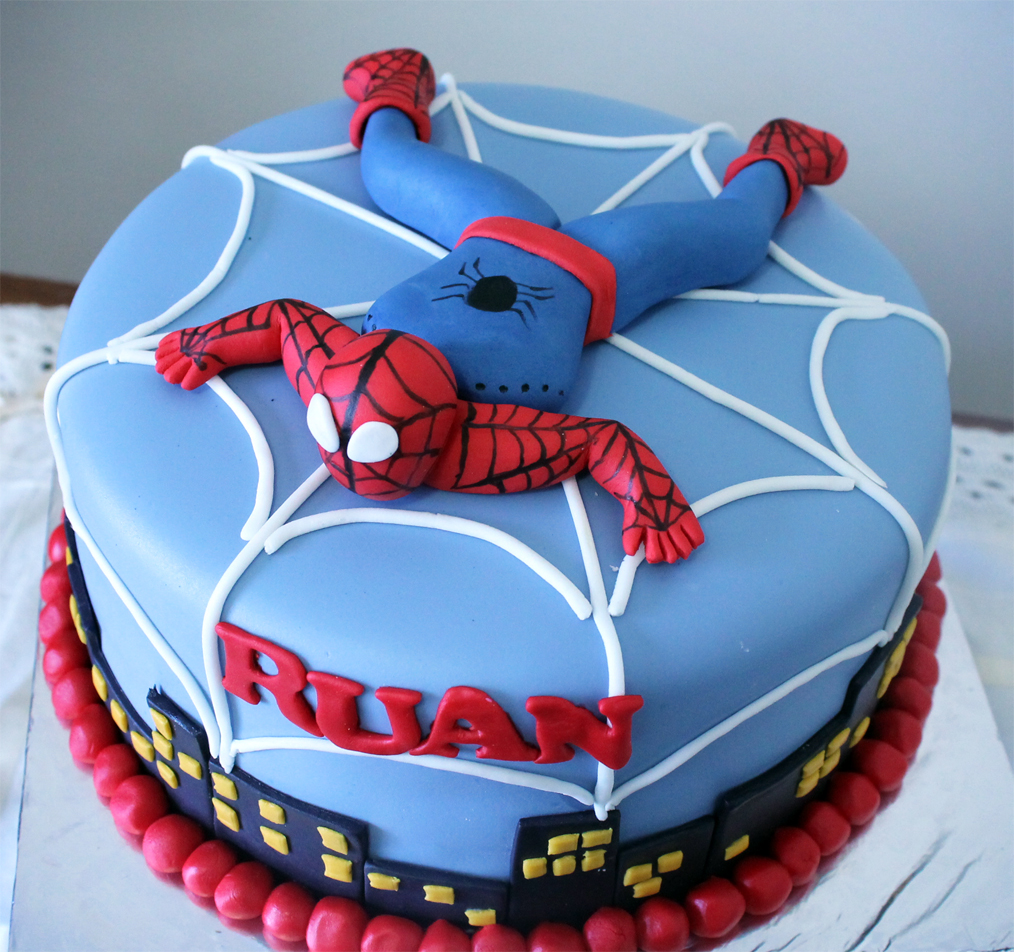 Spiderman Cake picture