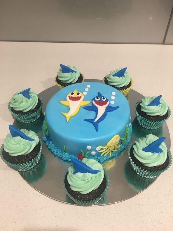 amazing baby shark cakes 10