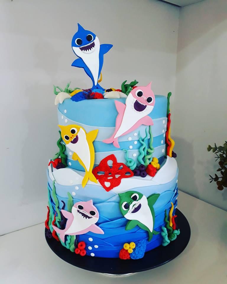 amazing baby shark cakes 2