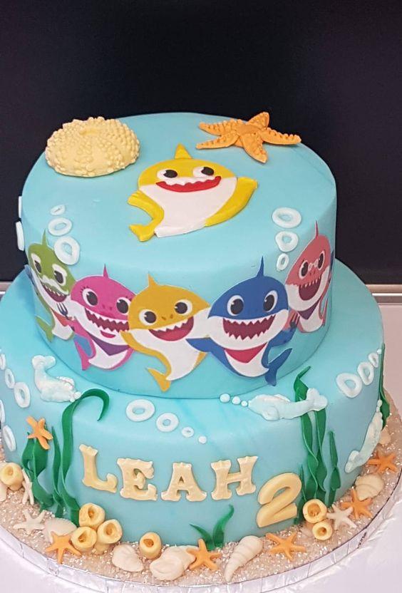 amazing baby shark cakes 3