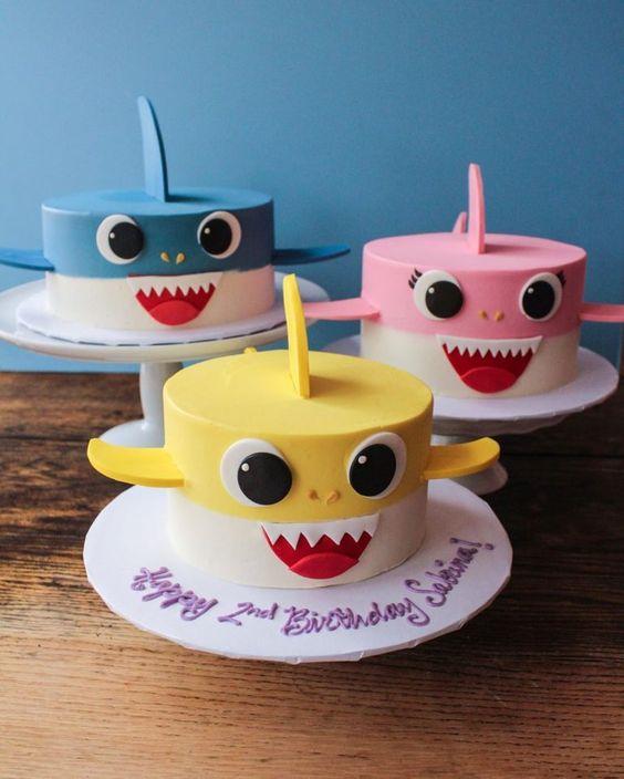 amazing baby shark cakes 4