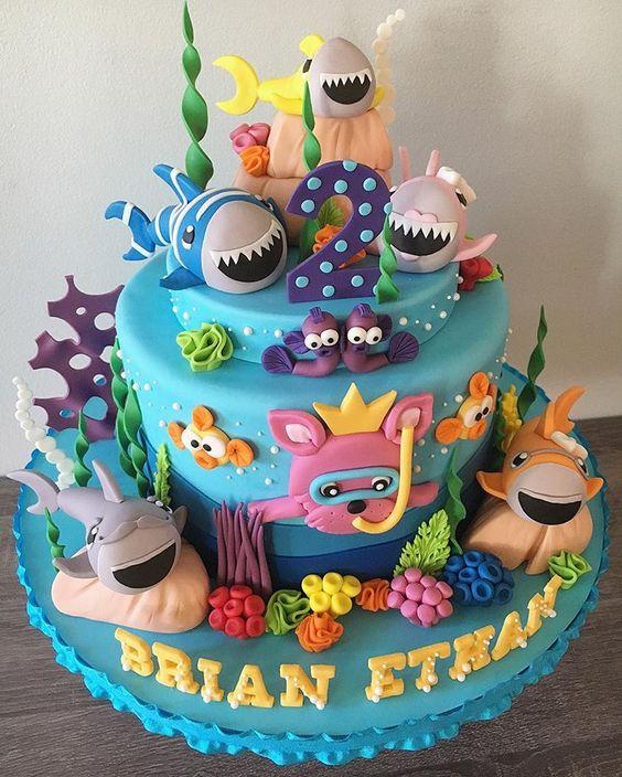 amazing baby shark cakes 5