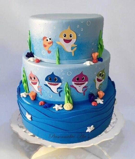amazing baby shark cakes 6