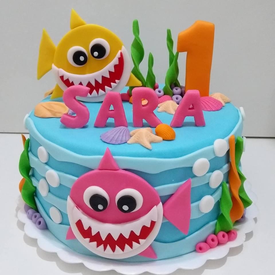 amazing baby shark cakes 9