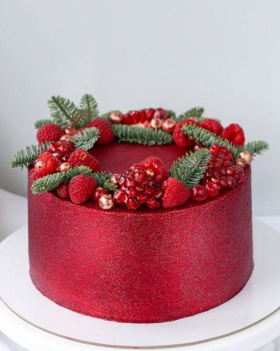 amazing christmas cakes 14