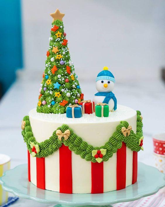 amazing christmas cakes 17