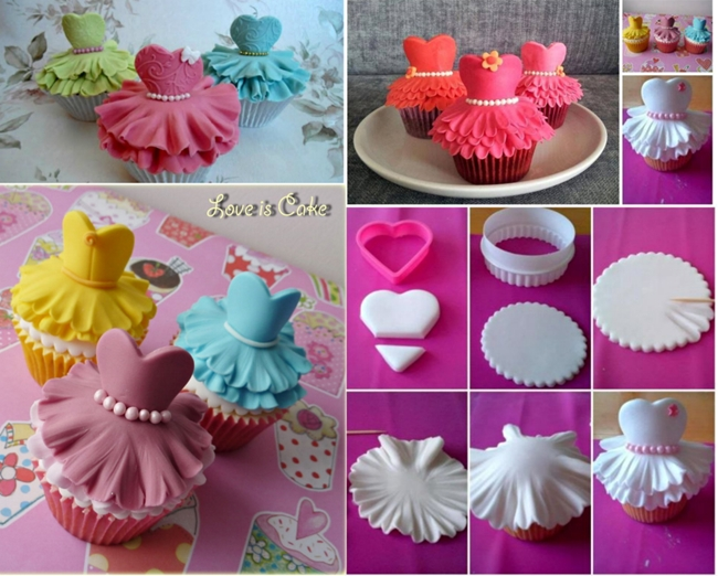 ballerina cupcakes F