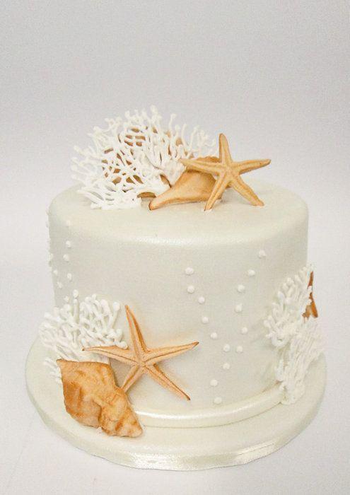 beach wedding cake ideas 2
