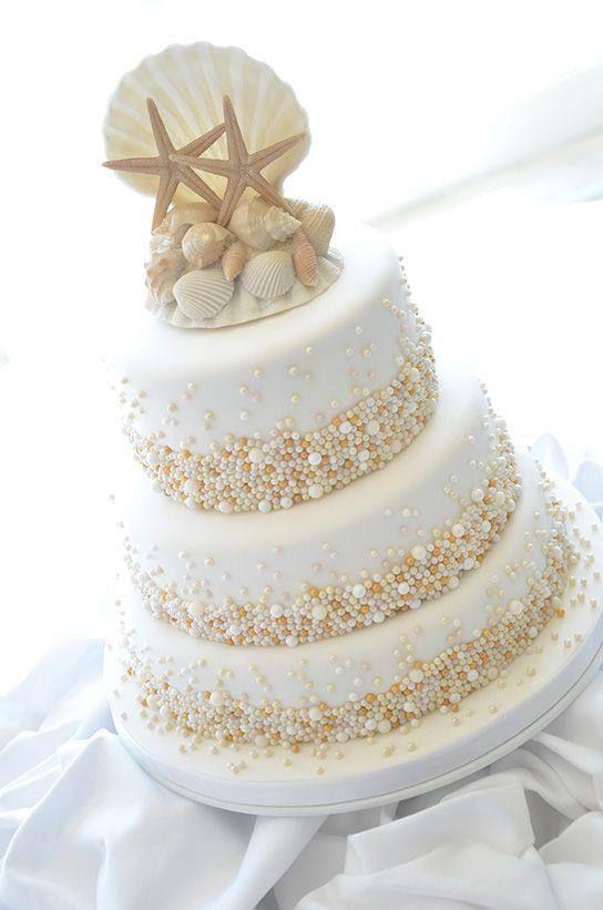 beach wedding cake ideas 5