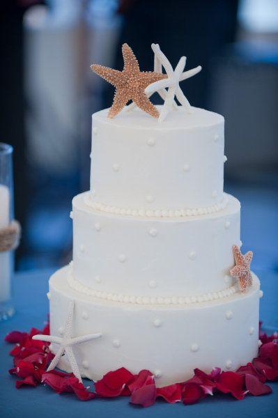 beach wedding cake ideas 6