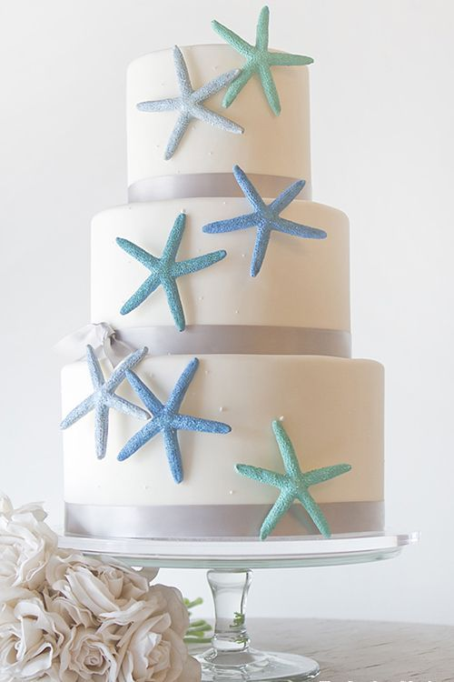 beach wedding cake ideas 7