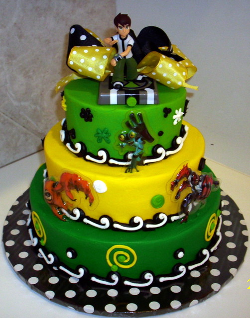 ben 10 cake by themecakes