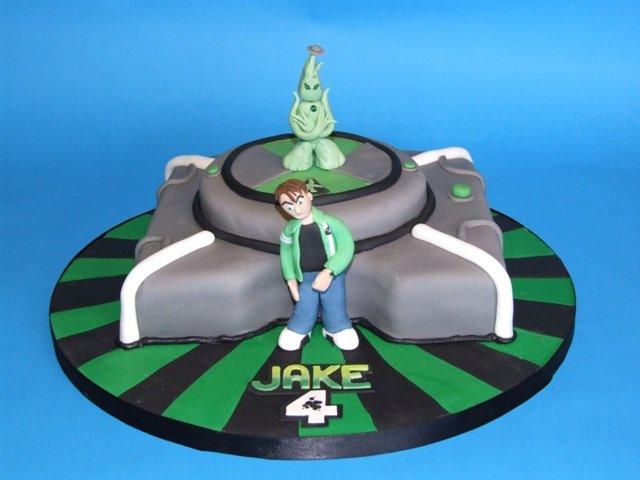 ben 10 cakes birthday