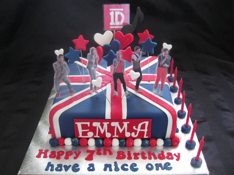 birthday cake one direction