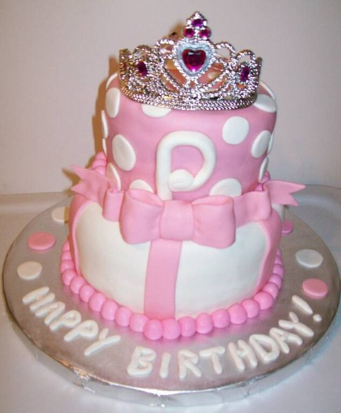 birthday cake princess