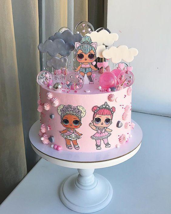 birthday cakes for girl 5