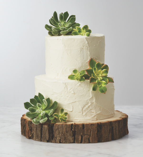 cake decorated with succulents 11 Copia