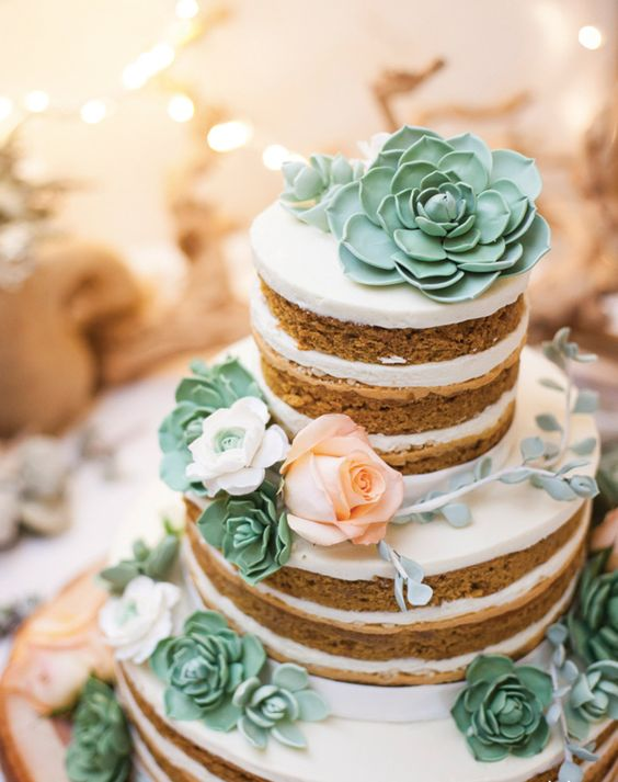 cake decorated with succulents 3 Copia