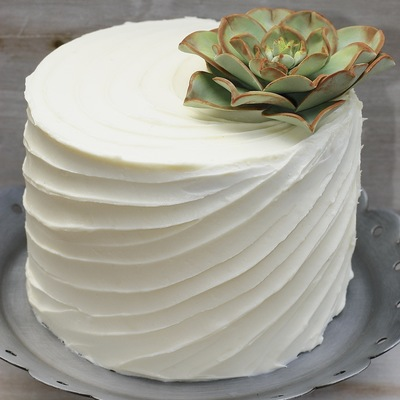 cake decorated with succulents 6 Copia