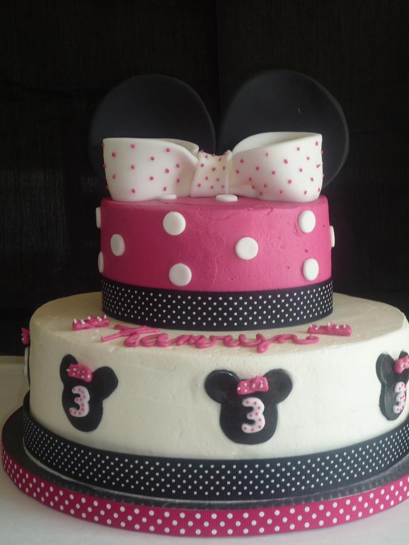 cake minnie decor