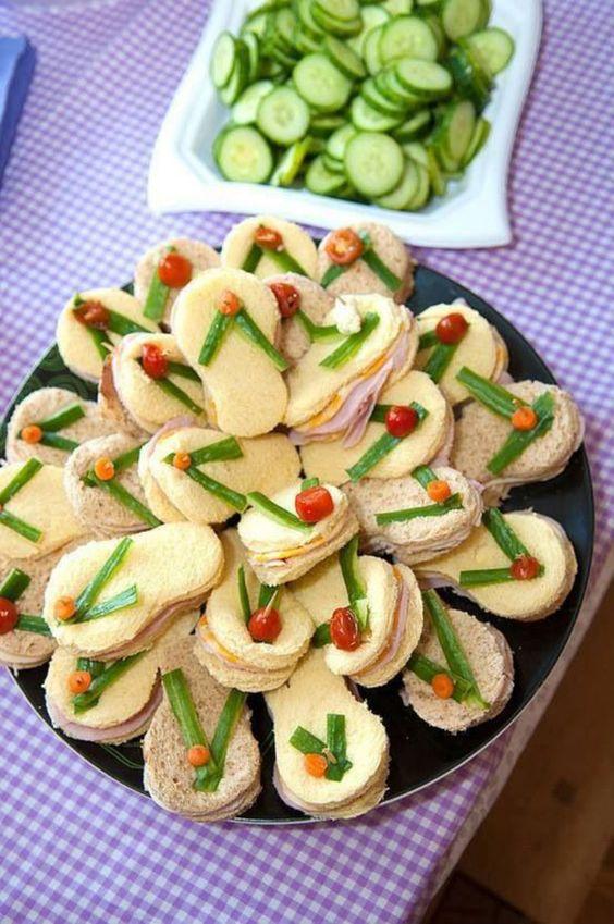cakes hawaiian party ideas 10