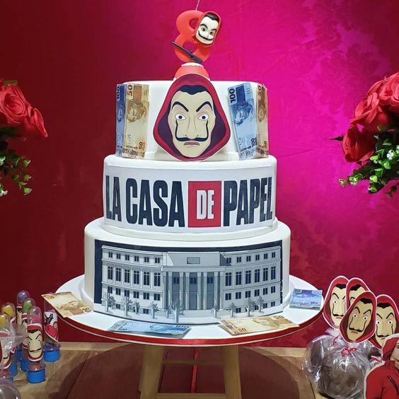 cakes la casa de papel 1
