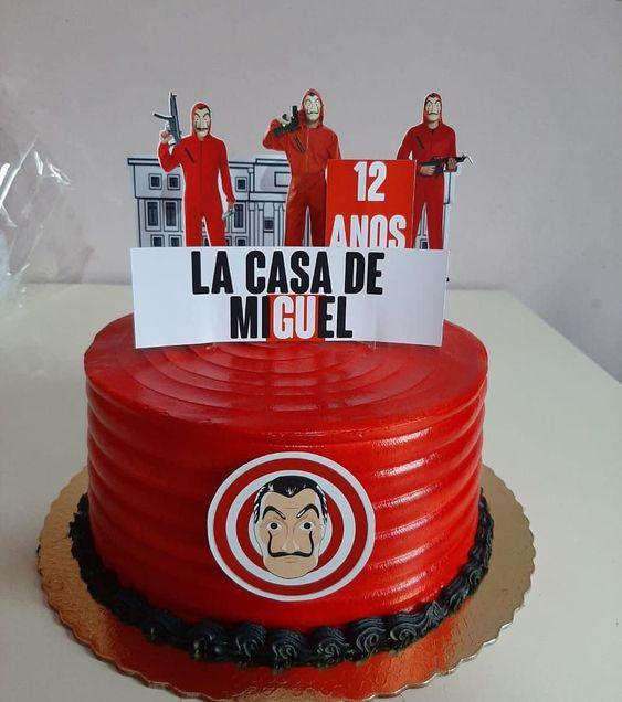 cakes la casa de papel 5