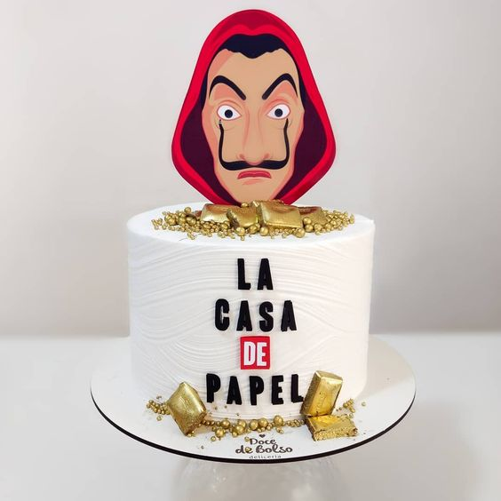 cakes la casa de papel 6