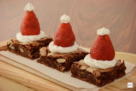 chocolate christmas brownies 10
