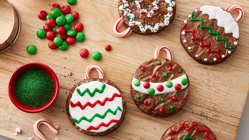 chocolate christmas brownies 4