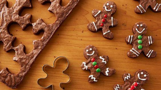 chocolate christmas brownies 7