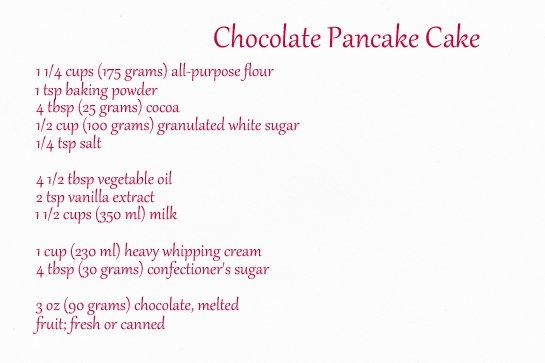 chocolate pancake cake ingredients11