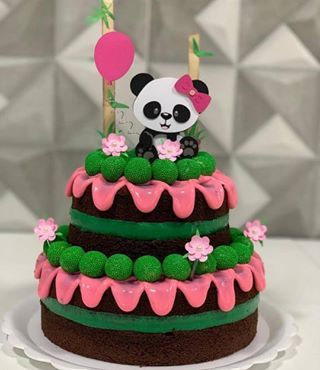 creative panda cake ideas 11