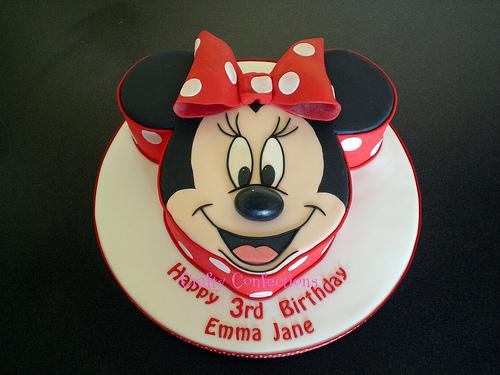 decor minnie cake