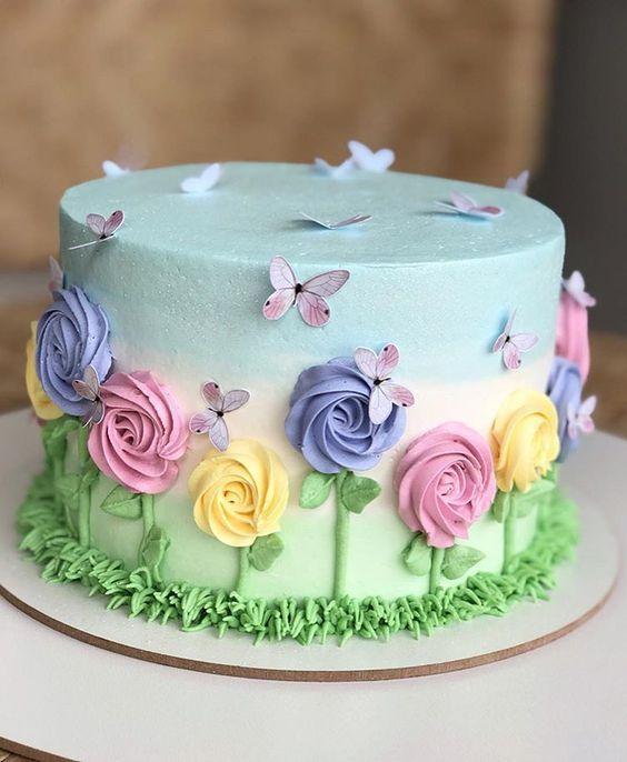 decorated birthday cakes 5