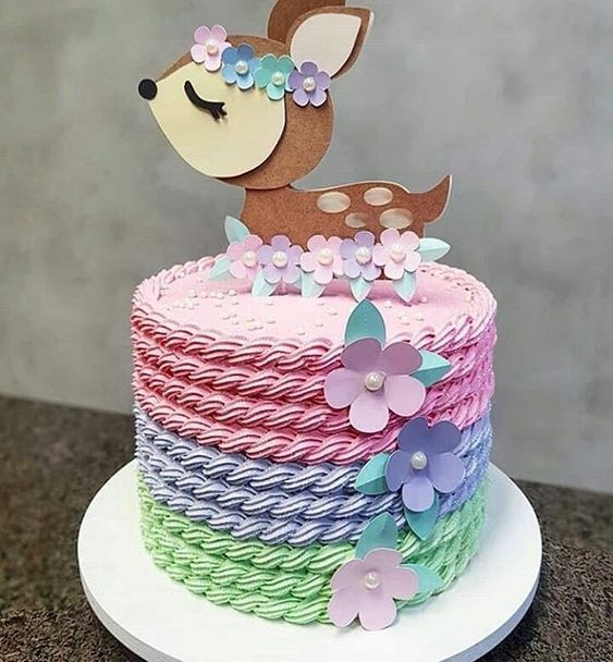 decorated birthday cakes 6