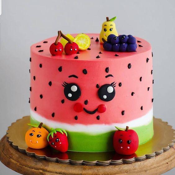 decorated birthday cakes 8