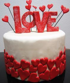 decorated cakes for valentines day 3