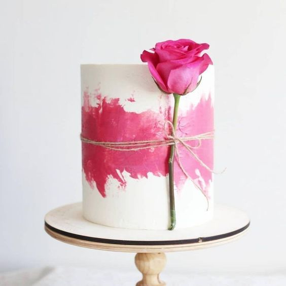 decorated cakes for valentines day 7