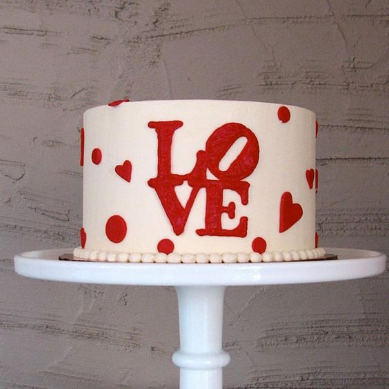 decorated cakes for valentines day 8